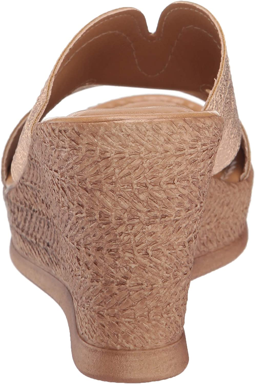 Easy Street Womens Tuscany Marsala Wedge Sandal Varies