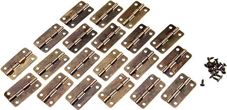 SSB-JIAJUPJ, 20st antieke messing kast deurbanden voor meubels sieraden houten doos scharnier meubelbeslag accessoires met...