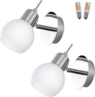 MantoLite lampa ścienna, 2 szt. nowoczesne oświetlenie syp