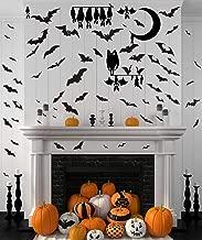 Halloween Bats Wall Decals Halloween Party Decorations Halloween Window Clings Decorations Bats Decals Halloween Cartoon Bat Sticker Removable and Peel&Stick Decals