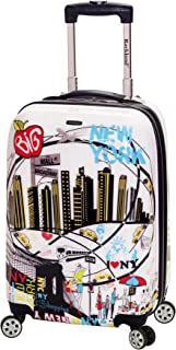 Luggage 20 Inch Polycarbonate Carry On, Newyork, One Size