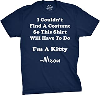 Im A Kitty Meow Halloween Costume T Shirt Funny Cat Shirts Sarcastic