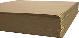 Crown Display 480 Count Kraft Paper Sheets ~ 80 GSM Brown Kraft Wrapping Paper Ream ~ Bulk Packaging for Shipping, Packing, Postal, Arts and Crafts (15 in. x 20 in. (1000 Square ft))