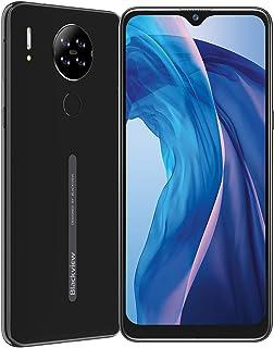 Blackview A80 スマートフォン本体 6.21インチ ディスプレイスマートフォン 4G 13MP+5MP カメラ 4200mAh バッテリー 16GB ROM SIMフリー スマホ 顔認証 指紋認証 技適認証済 (ブラック)