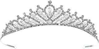 Brilliant Bridal Rhinestone Crystal Prom Wedding Tiara Crown T1123