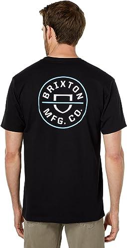 Crest II Short Sleeve Standard Fit T-Shirt
