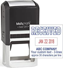 MaxMark Q43 (Large Size) Date Stamp with