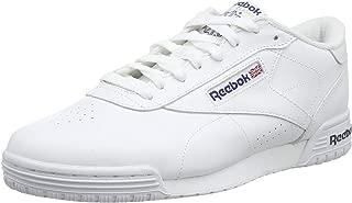 Reebok Ex-O-Fit Clean Logo INT Men's Fashion Sneaker, Intense White/Royal Blue/Royal Blue