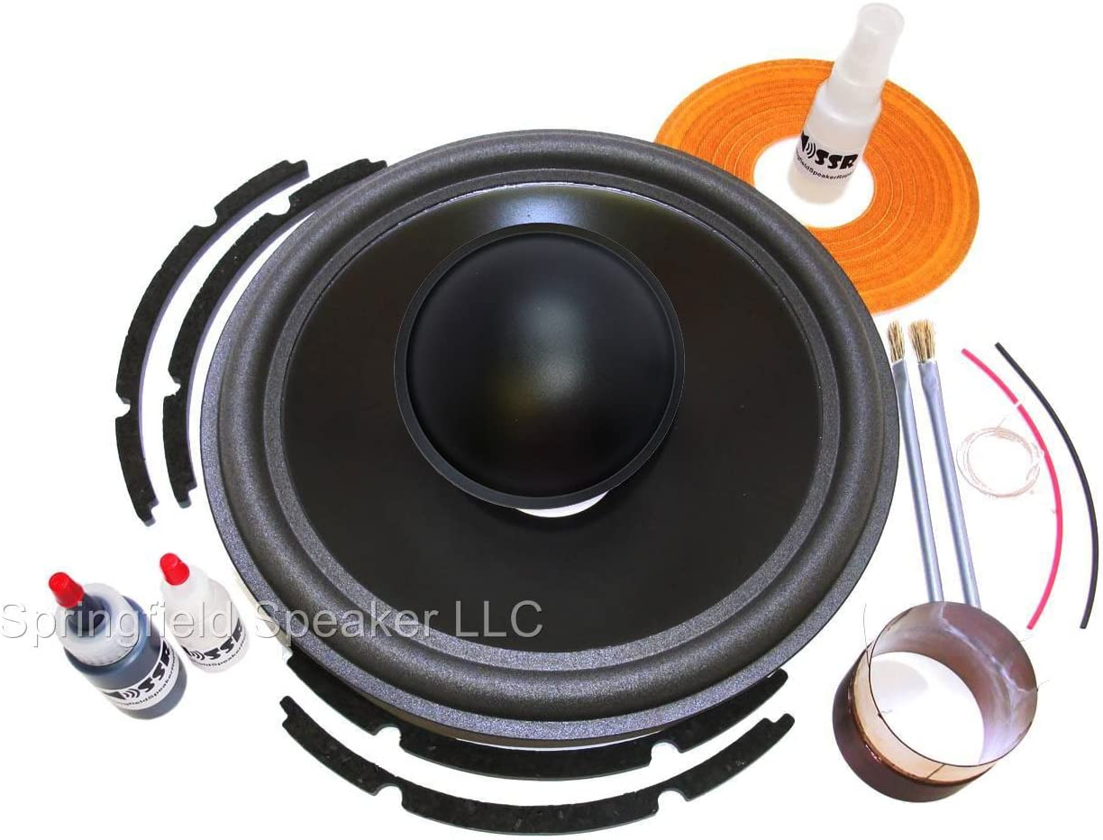 Springfield Speaker Recone low-pricing Kit + Install with - J Compatible San Antonio Mall