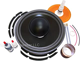 Springfield Speaker Recone Kit + Install Kit - Compatible with JL Audio 12W6 only - NOT for 12W6v2