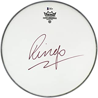 ringo starr signed drum head