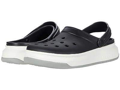 Crocs Crocband Full Force Clog (Black/White) Clog Shoes