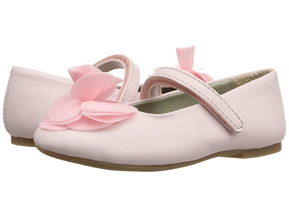 Pazitos Silk Rose MJ PU (Toddler/Little Kid) (Pink) Girls Shoes