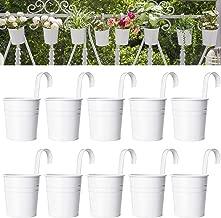 Best pots for balcony railing fences Reviews