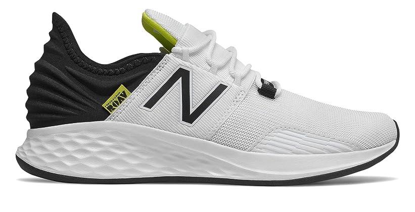 [ニューバランス] 靴?シューズ レディースランニング Fresh Foam Roav White with Black and Bleached Lime Glo ホワイト ブラック ライム グロー US 3.5 (21.5cm) [並行輸入品]