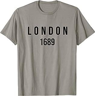 London 1689 Reformed Baptist T-shirt