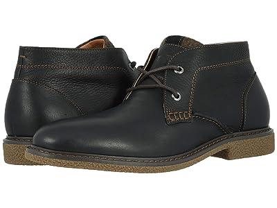 Dockers Greyson (Black Soft Tumbled Full Grain) Men