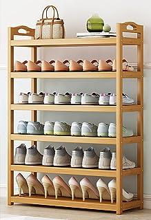 LTLJX 6 étagères à Chaussures en Bambou étagères à Chaussures Support Organisateur de Rangement,Support de Support de Plan...