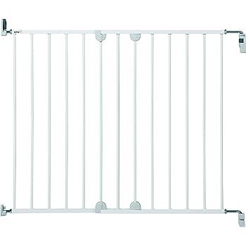 Safety 1st Wall Fix Extending Treppenschutzgitter, erweiterbar bis zu 102 cm ohne seperate Verlängerung, weiß