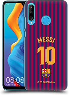 Official FC Barcelona Lionel Messi 2018/19 Players Home Kit Group 1 Hard Back Case Compatible for Huawei P30 Lite