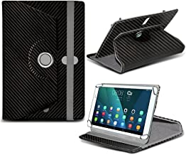 i-Tronixs Archos Gamepad 2Tablet (Negro) de Carbono de 7Pulgadas Universal Tablet PC Funda con 360rotación de Funda de Piel sintética sintético Duradero 4Suspensión