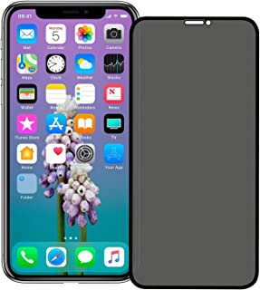 HAOLIU Store-UAE Anti-Spy Privacy Full Coverage Super Clear 9H Hardness Tempered Glass Screen Protector for iPhone XS/X