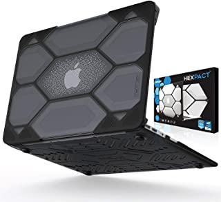 IBENZER Hexpact Heavy Duty Protective Case for MacBook Air 11 Inch A1370/A1465, Black, LC-HPE-A11CYBK