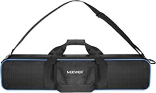 Neewer Large Photo Studio Lighting Equipment Carrying Bag 30x7.48x4.33inches with Shoulder Strap and Handle for Light Stand, Tripod, Umbrella, LED Light, Flash and Other Accessories (Black/Blue)