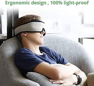 onlyer Sleep Mask for Women& Men, 3D Eye Mask for Sleeping with Breathable & Super Soft Memory Foam,for Sleeping, Zero-Pressure Best Blinder for Travel/Sleeping/Shift Work/Meditation Gift