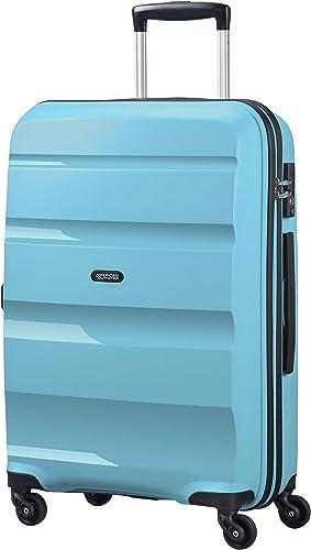 American Tourister Bon Air - Spinner Medium Bagage cabine, 66 cm, 57.5 liters, Bleu (Blue Topaz)