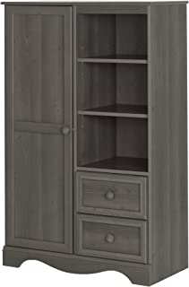Amazon.com: Grey - Bedroom Armoires / Bedroom Furniture: Home & Kitchen