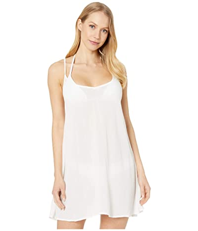 Roxy Be in Love Cover-Up Dress (Bright White) Women