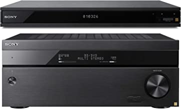 Sony STRZA3100ES 7.2 Channel 4K HDR AV Receiver with Sony UBPX1000ES 4K UHD Blu Ray Player