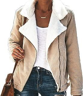 Soluo Women Fuzzy Fleece Coat Casual Warm Faux Fur Jacket Oversized Teddy Outwear with Pockets Blouses Sweatshirts