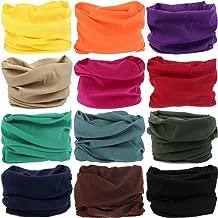 VANCROWN Headwear Head Wrap Sport Headband Sweatband 220 Patterns Magic Scarf 12PCS & 6PCS 12 in 1
