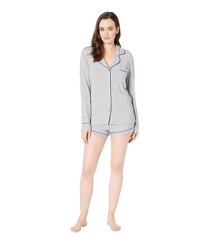 UGG Nya Set Mini Stripe Shorts Set (Navy/Cream) Women