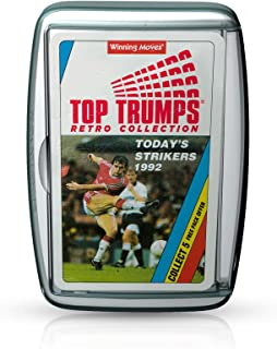 Today's Strikers Retro Top Trumps Card Game