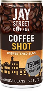 Coffee Shot, Unsweetened Black, 6.4 Ounce (Pack of 20)