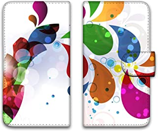 WHITENUTS ZenFone 3 ZE520KL ケース 手帳型 UVプリント手帳 パターンB (wn-611) スマホケース ゼンフォン スリー 手帳 カバー 全機種対応 WN-PR1359827_L