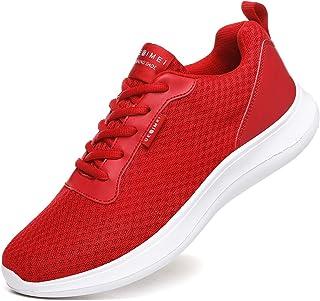 Men's Breathable Mesh Tennis Shoes Comfortable Gym...