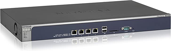 NETGEAR ProSAFE Wireless Controller with Maximum Support of 15 Access Points (WC7500-10000S)
