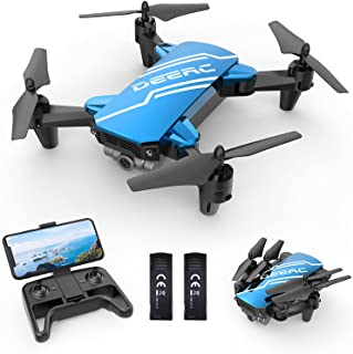 DEERC D20 Mini Drone with Camera for Kids, Remote Control Toys Gifts for Boys Girls with Voice...