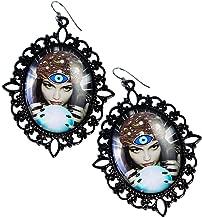 Forum Novelties - Fortune Teller - Crystal Ball Cameo Earrings