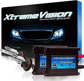 XtremeVision 35W Xenon HID Lights with Premium Slim Ballast - 9004 6000K - 6K Light Blue - 2 Year Warranty