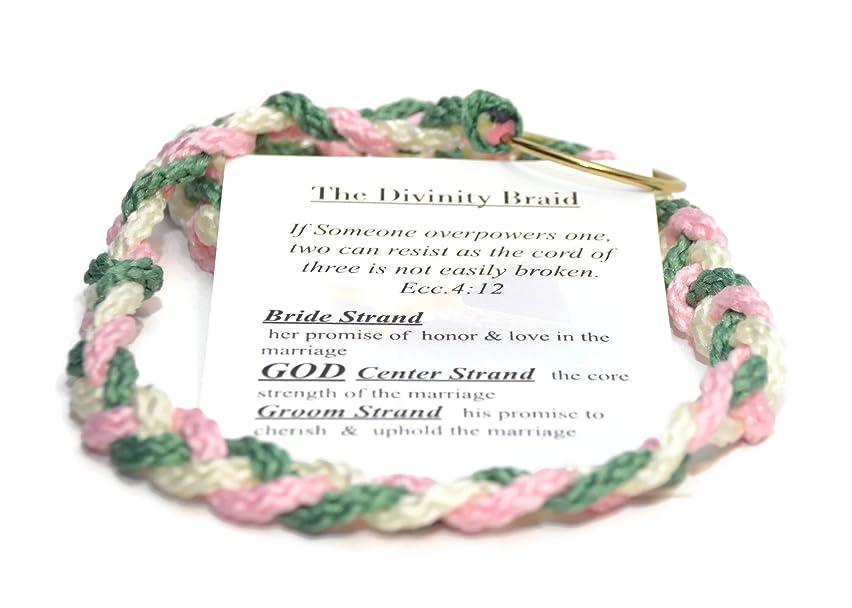 Tickled Sage Cord of Three Strands ~ the Divinity Braid #CordOfThree #DivinityBraid