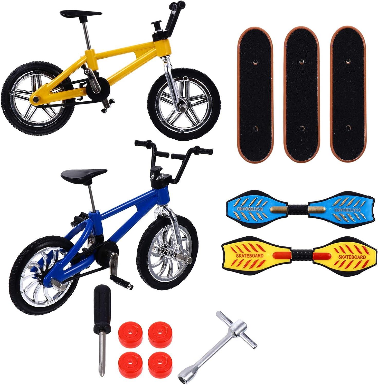 NUOBESTY 13pcs Bargain sale Mini Finger New mail order Sports Set Skateboards Bikes F