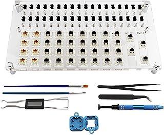 JakeTsai Lube Station 36 omkopplare testöppnare plattformssats för mekaniskt tangentbord körsbärsomkopplare testare Gatero...