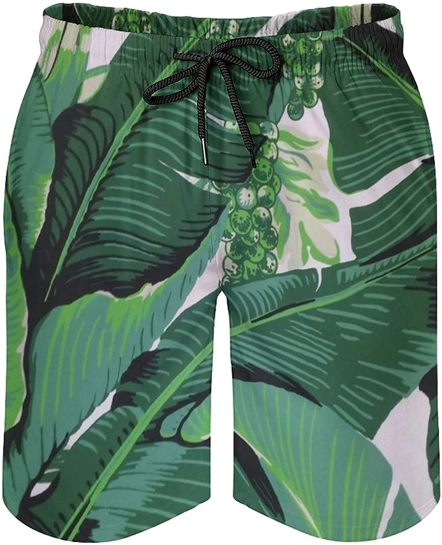 NiYoung Men's Swim Trunks Quick Dry Beach Board Shorts Drawstring Bathing Suits