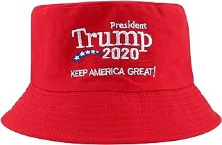 Trump 2020 Hat, Donald Trump Bucket Hats for Men& Women, President Trump 2020 Keep America Great Campaign Hat