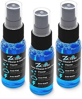 Z Clear Lens Cleaner & Anti-Fog: 1 oz Spray | Stays Cleaner for Longer - Anti-Static | Safe on All Lenses, Alcohol & Ammon...